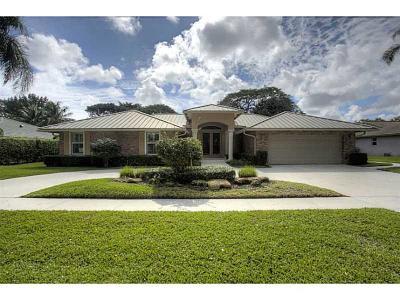Boca Raton Single Family Home For Sale: 2840 Banyan Boulevard Circle NW