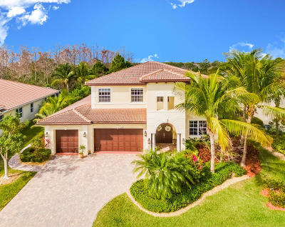 Jupiter Single Family Home For Sale: 197 Umbrella Place