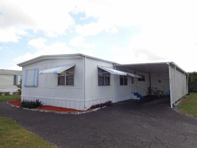 Boynton Beach FL Mobile Home For Sale: $73,900
