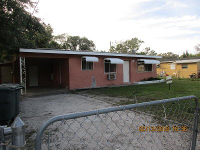 Fort Pierce Single Family Home For Sale: 705 S 21st S Street
