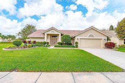 Lake Worth Single Family Home Contingent: 6756 Brookhurst Circle