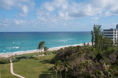 Palm Beach Condo For Sale: 2774 S Ocean Boulevard #808