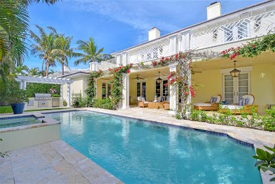 Palm Beach FL Single Family Home For Sale: $5,150,000