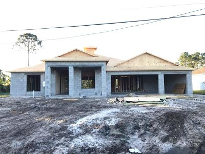 Port Saint Lucie Single Family Home For Sale: 110 SW S Wakefield Circle