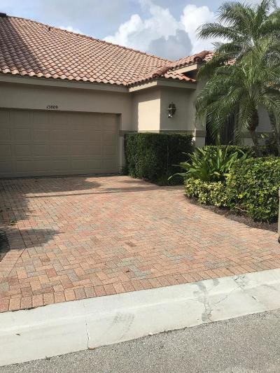Palm Beach Gardens Townhouse For Sale: 13809 Parc Drive
