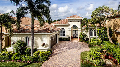 West Palm Beach Single Family Home For Sale: 7037 Isla Vista Drive