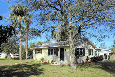Vero Beach Single Family Home Contingent: 1094 10th Place