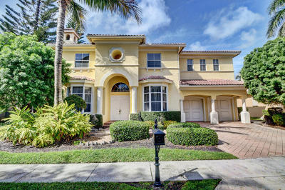 Boca Raton FL Single Family Home For Sale: $1,010,000