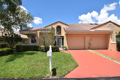 Boca Raton Single Family Home For Sale: 10981 Lakemore Lane #A