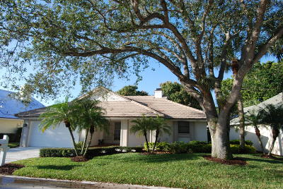 Jupiter Single Family Home For Sale: 17008 Freshwind Circle