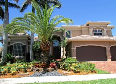 Boynton Beach Single Family Home For Sale: 10727 Canyon Bay Lane
