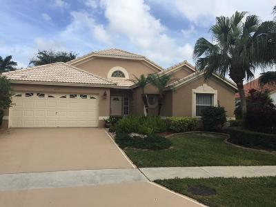 Lake Worth Single Family Home Contingent: 6112 Royal Birkdale Drive