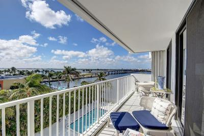 Palm Beach Condo For Sale: 2860 S Ocean Boulevard #508
