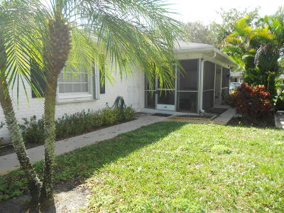 Boynton Beach Single Family Home For Sale: 10101 45th Trail S #465