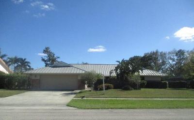 Wellington Single Family Home For Sale: 11592 Whitemarsh Drive