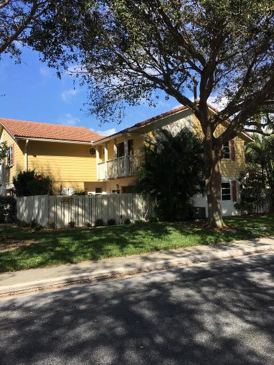 Jupiter Townhouse For Sale: 227 Seabreeze Circle
