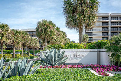 Halcyon Of Palm Beach Condo For Sale: 3440 S Ocean Boulevard #108 S