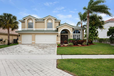 Wellington Single Family Home Contingent: 3771 Moon Bay Circle