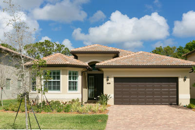 Jupiter Single Family Home For Sale: 7107 Limestone Cay Road