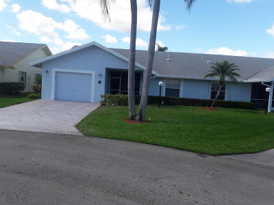 West Palm Beach Single Family Home Contingent: 3337 Justin Circle