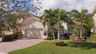 Palm Beach Gardens Single Family Home For Sale: 12419 Aviles Circle