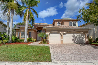 Boynton Beach Single Family Home For Sale: 11048 Brandywine Lake Way