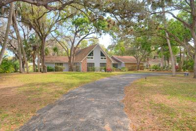 Fort Pierce Single Family Home Contingent: 2504 Lazy Hammock Lane