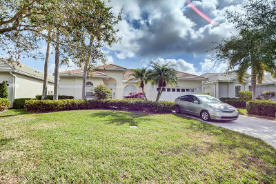Palm City Single Family Home For Sale: 1587 SW Monarch Club Drive
