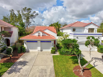 Boca Raton Single Family Home For Sale: 5508 Fox Hollow Drive