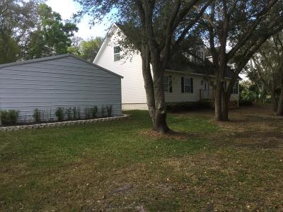 Fort Pierce Single Family Home Contingent: 8201 Indrio Road