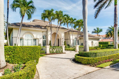 Boca Raton Single Family Home For Sale: 295 W Alexander Palm Road