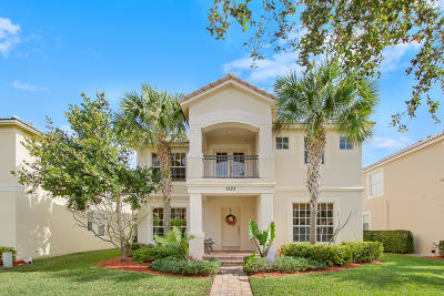 Palm Beach Gardens Single Family Home For Sale: 8123 Bautista Way