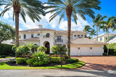 Boca Raton Single Family Home For Sale: 292 Fern Palm Road