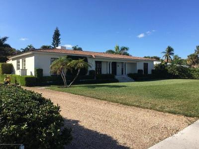 West Palm Beach Single Family Home For Sale: 2415 S Flagler Drive