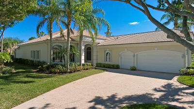 West Palm Beach Single Family Home For Sale: 8221 Cypress Point Road