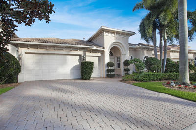 Palm Beach Gardens Single Family Home For Sale: 134 Abondance Drive
