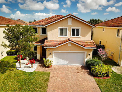 Greenacres FL Single Family Home For Sale: $349,000