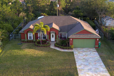 Port Saint Lucie Single Family Home For Sale: 1082 SW John Maccormack Terrace