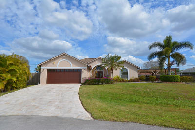Port Saint Lucie Single Family Home For Sale: 351 SW Alcan Court