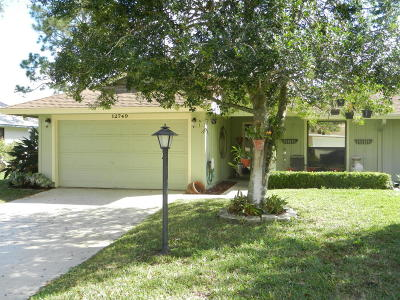 Martin County Single Family Home For Sale: 12749 SE Cascades Court