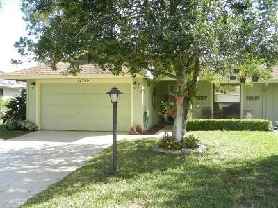 Hobe Sound Single Family Home For Sale: 12749 SE Cascades Court