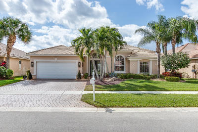 Lake Worth Single Family Home For Sale: 9648 San Vittore Street