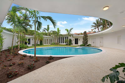 Palm Beach FL Single Family Home For Sale: $5,950,000