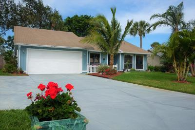Vero Beach Single Family Home Contingent: 860 4th Lane