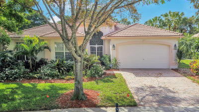 Boynton Beach Single Family Home For Sale: 11362 Barca Boulevard