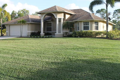 West Palm Beach Single Family Home For Sale: 12858 61st Street