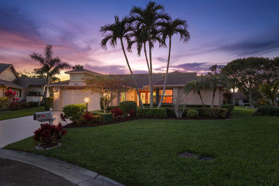 Delray Beach Single Family Home For Sale: 5640 Pleasant Valley Lane