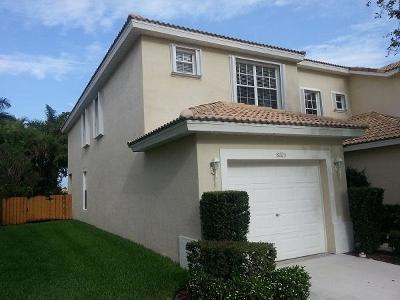 Boynton Beach Rental For Rent: 8103 Bellagio Lane
