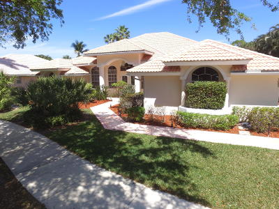 Jupiter Single Family Home For Sale: 19005 SE Coral Reef Lane