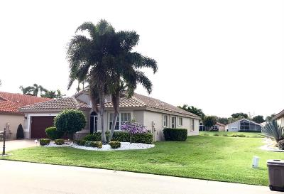 Boynton Beach Single Family Home Contingent: 6998 Castlemaine Avenue